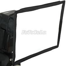universal 15cm x 20cm foldable flash diffuser softbox soft box for 430EX 580EX