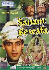 SANAM BEWAFA (1991) SALMAN KHAN, CHANDNI - BOLLYWOOD DVD