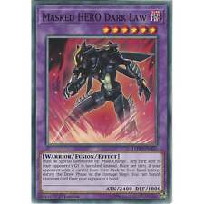 Yu-Gi-Oh Masked HERO Dark Law - LEHD-ENA35 - Common Card - 1st Edition