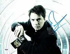 John Barrowman Signed Torchwood Authentic Auto 11x14 Photo PSA/DNA #W69304