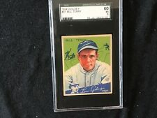 1934 Goudey #21 Bill Terry sgc 5