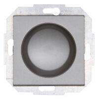 Kopp Athenis Stahl Wippen-Wechsel-Drehdimmer Schalter  20-315 W VA Tronic-Dimmer