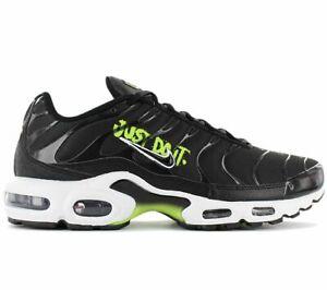 Nike Air Max Plus TN - Just Do It - DJ6876-001 Herren Sneaker Schwarz Schuhe NEU