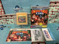 Super Donkey Kong GB Game Boy Japan Nintendo boxed set