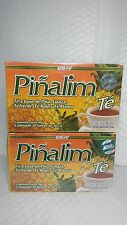 2 Pinalim Tea 30 GN VIDA NEW AND SEALED (PACK OF 2 BOXES) EXP 04/19 NEW  & FRESH