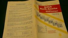 British North America retail postage stamp catalogue 1970 Lymans Bna