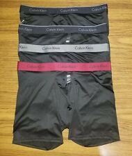 4 Pack Calvin Klein Boxer Briefs NB1290 - Black - Size Large