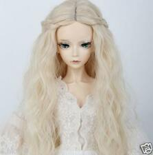 "Wigs BJD Doll Micro-roll Wig 8-9"" 1/3 SD DZ LUTS Long curls Wig braid Hair Gifts"