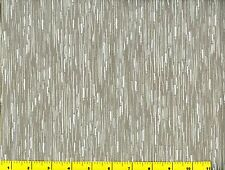 Gray & White Streaked Blender Quilting Fabric 1/2 Yard #271