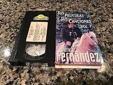 Sus Peliculas Y Sus Canciones Vol 1 Rare VHS! Spanish Mexi Musical!