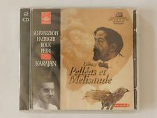 2 CD Debussy Pelleas et Melisande Karajan Neu originalverpackt