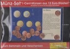 Europa 1 Cent Euro-Munten uit 12 verschillende Landen Munten 12 verschillende