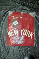New York Red Bulls New Mitchell Ness Soccer Futbol MLS Lightweight Hoodie L