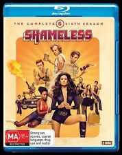 Shameless The Complete Season Sixth Season 6 Six Blu-ray 2-Disc NEW