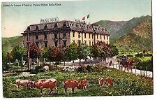 CARTOLINA 1912 SALUTI DA LANZO D' INTELVI PALACE HOTEL BELLA-VISTA RIF. 11274