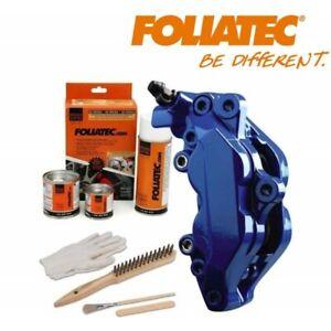 Kit peinture étrier ou tambour de frein Foliatec bleu brillant RS Blue