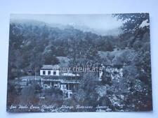 San Paolo Cervo Biella Albergo Ristorante Asmara vecchia cartolina