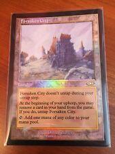 Forsaken City ~ NM ~ Foil ~ Planeshift ~ MTG ~ Magic