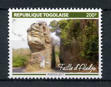 Togo 2017 MNH Aledjo Fault 1v Set Tourism Landscapes Nature Stamps