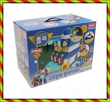 Robocar Poli with Jin Figure Rescue Center Station Play Set