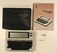 Radio Shack TRS-80 Model 100 Portable Computer with Case Manual USED READ