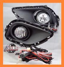 2013 2014 2015 Mazda CX-9 Clear Bumper Fog Light Lamp BULBS+WIRING+SWITCH- KIT