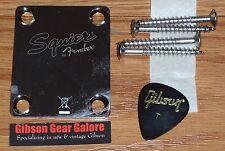 Fender Squier Telecaster Neck Plate 60s Classic Chrome Guitar Parts Project Tele