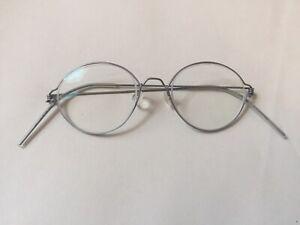 Lindberg Panto air titanium wire rim glasses