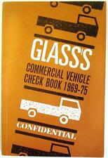 GLASS'S COMMERCIAL VEHICLE CONFIDENTIAL UK Check Book 1969 -75