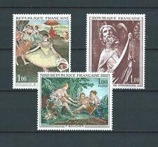 TABLEAUX d' ART - 1970 YT 1652 à 1654 - TIMBRES NEUFS** MNH LUXE