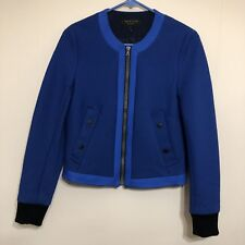 Rag & Bone Jacket Bomber Coat Cobalt Blue