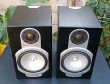 Monitor Audio Silver RS1 Speakers Bookshelf  Ebony Black Pair
