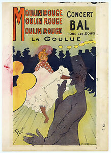 Toulouse-Lautrec lithograph poster (printed by Mourlot) 678790809