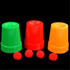 Balls Return Cups Magic Toy Magic Props Magie Tricks Props Magic Show Toys  I