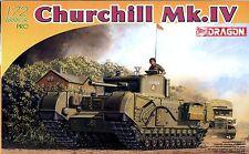 Dragon 1/72 7424 WWII British Churchill Mk.IV Infantry Tank