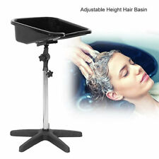 Hairdressing BackWash Shampoo Sink Salon Hair Portable Basin Mobile Bowl Stand