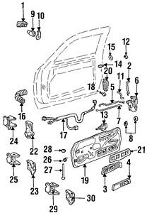 Genuine GM Handle Inside 22086874