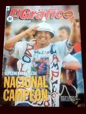 NACIONAL de MONTEVIDEO CHAMPION 1990's - El Grafico magazine Uruguay
