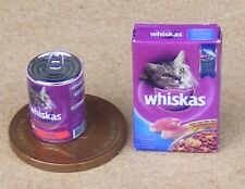 1:12 Scale The Cats Whiskas (Food For Pussy) Dolls House Miniature Pet Accessory