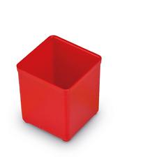 Bosch Sortimo 10St Insetbox rot A3 63 mm / Einsatzbox für L-Box 102