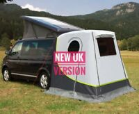 tailgate rear tent Volkswagen VW T4 / T5 / T6 Transporter Multivan easy set up
