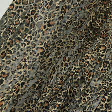 2yards Wide 150CM Animal Print Fabric Leopard Skin Prints lace fabric