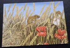POSTCARD: (2/2497): FIELD MICE: FROM ORIGINAL PAINTING BY DAVID TEAGUE