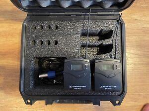 Sennheiser P100 G3 SK100 Transmitter & EK100 Receiver With Case