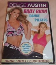 Denise Austin - Body Burn with Dance and Pilates (DVD, 2008) New Unopened!