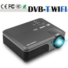 New listing 4200lm Hd Led Home Theater Projector Android WiFi Hdmi Dvb-T Online Movie 1080p