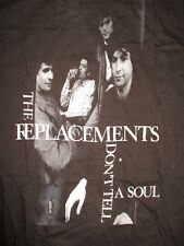 1989 Alternative Rock The Replacements Don't Tell A Soul Concert Tour (Lg) Shirt