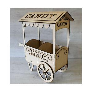 C17 CANDY CART SWEET HOLDER, DONUT WALL FERRIS WHEEL SWEET TROLLEY