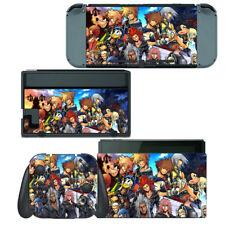 Nintendo Switch Skin Decal Sticker Vinyl Wrap - Kingdom Hearts Final Mix II