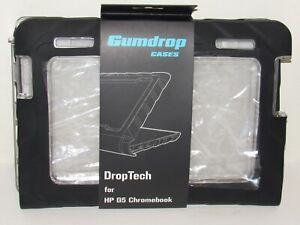 "Gumdrop DropTech HP 11 G5 14"" Chromebook Case NEW Rugged Shock Cover Black"